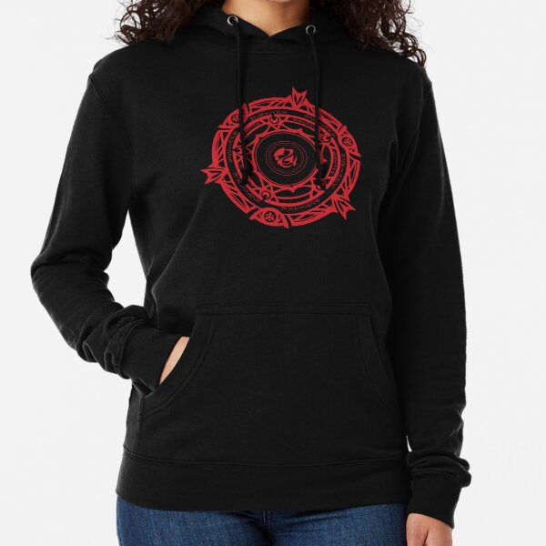Gremory Clan Magic Circle Lightweight Hoodie