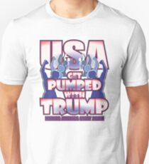 USA GET PUMPED WITH TRUMP Unisex T-Shirt