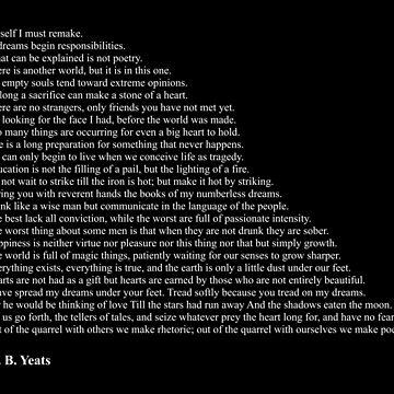W. B. Yeats Quotes by qqqueiru