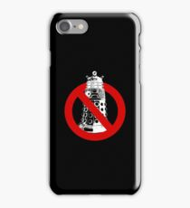 WHO you gonna call? Black iPhone Case/Skin