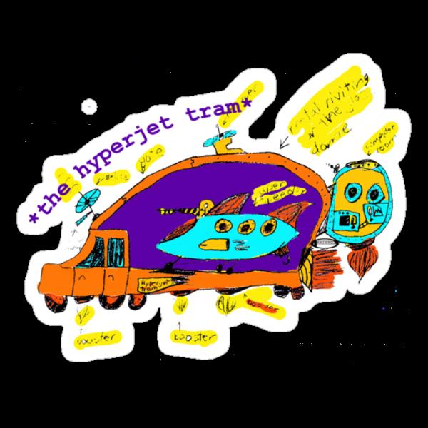The Hyperjet Tram by Iva Penner