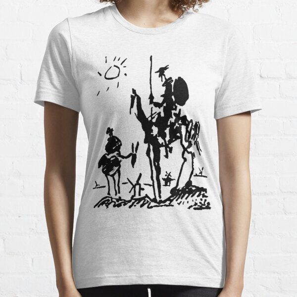 Illustration de Don Quichotte par Pablo Picasso T-shirt essentiel