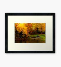 Fall Planting Framed Print