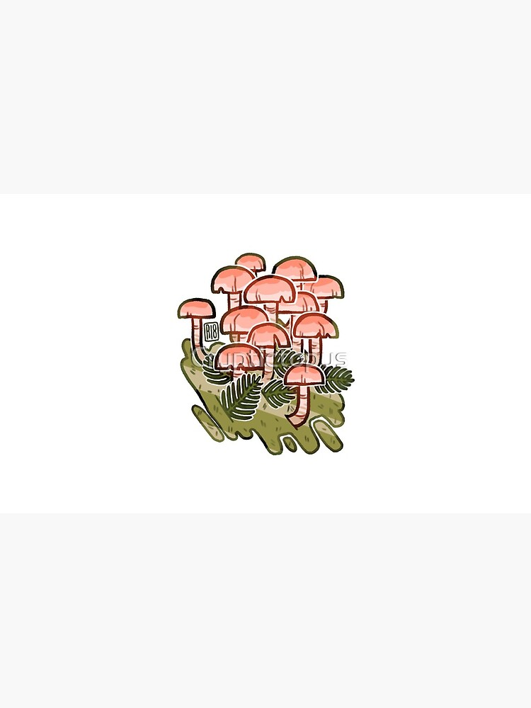 Pink fungi  by Cryptictopus