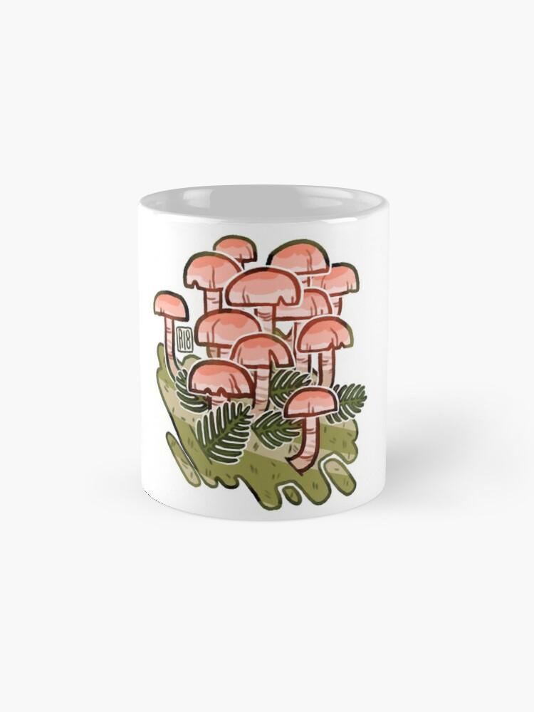 Alternate view of Pink fungi  Mug