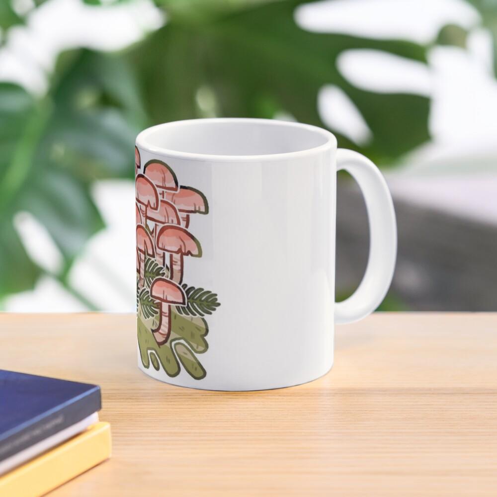 Pink fungi  Mug