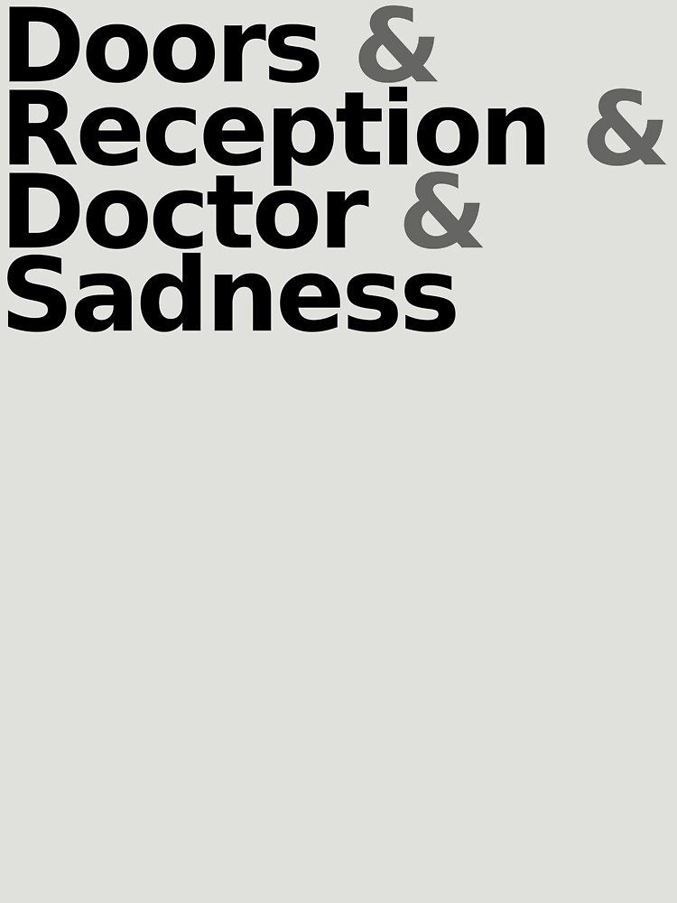 Loss - Helvetica Black Text by TalenLee