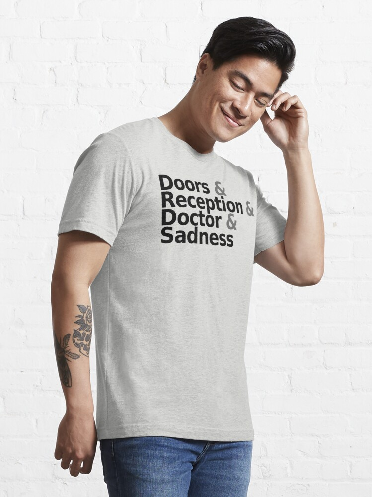 Alternate view of Loss - Helvetica Black Text Essential T-Shirt