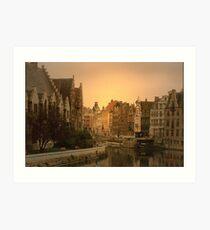 Ghent - Belgium Art Print