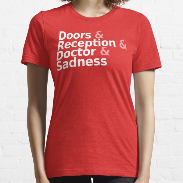Loss - Helvetica White Text Essential T-Shirt