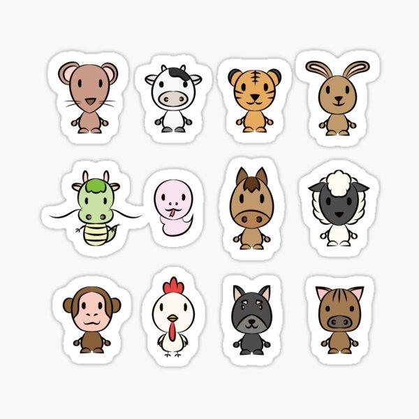 Chinese Zodiac sign Sticker