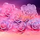 Soft Roses Art Work For Valentines Day by hurmerinta
