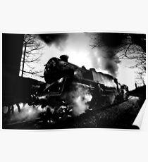 Steam Train Oakworth Loco 80002 Poster