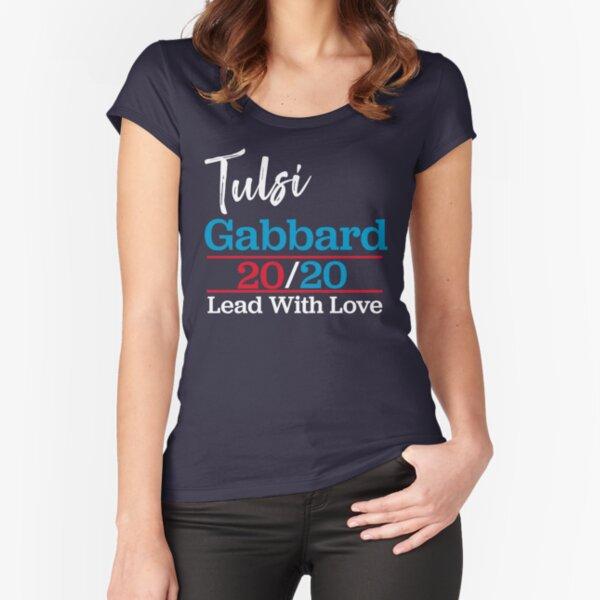Tusli Gabbard Shirt Fitted Scoop T-Shirt