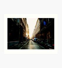 Rue de Paris Art Print