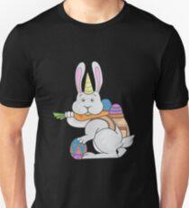 Unicorn easter bunny bunny rabbit gift Slim Fit T-Shirt