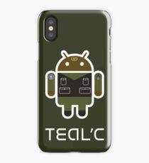 Droidarmy: Teal'c SG-1 iPhone Case