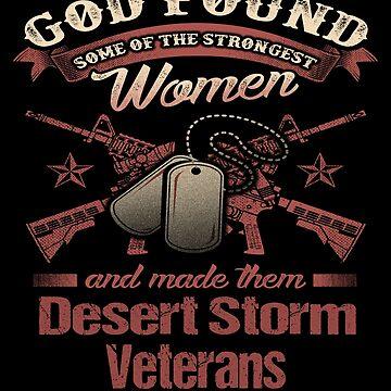 Women Veteran Operation Desert Storm  by fantasticdesign
