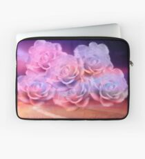Soft Roses And Sea Art Work Laptop Sleeve