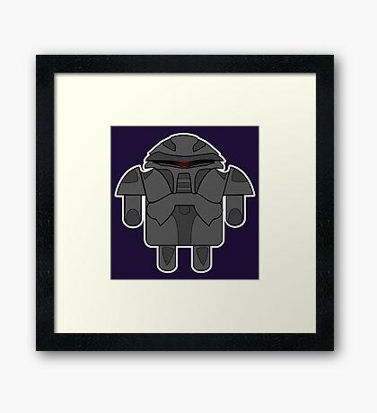 DroidArmy: Cylon Framed Print