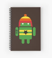 Droidarmy: Browncoat Spiral Notebook
