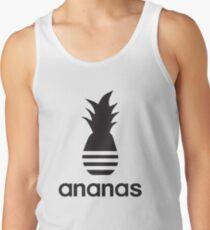 Ananas-Parodielogo Tanktop für Männer