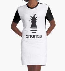 Ananas parody logo Graphic T-Shirt Dress