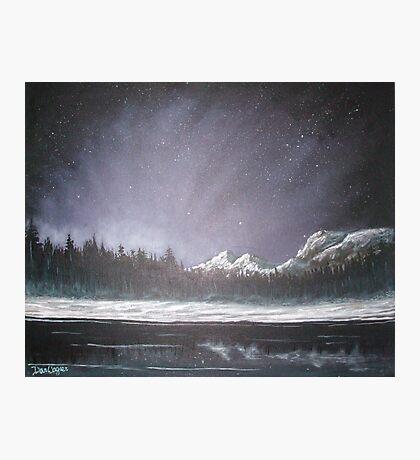 Winters Night Photographic Print