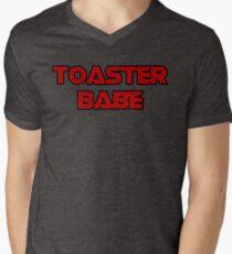 Toaster Babe Mens V-Neck T-Shirt