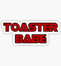 Toaster Babe Sticker