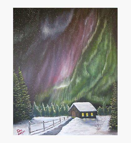 Christmas Glory (Gods Christmas lights) Photographic Print