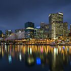 Cockle bay, Darling Harbour at dusk. Sydney, NSW, Australia. by andremichel