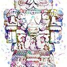 «Maya Totem Popart» de JoAyaki