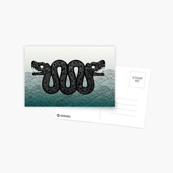 Sea Dragon Loch Ness Postcard