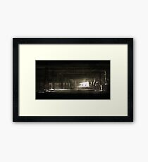 Shooting Framed Print