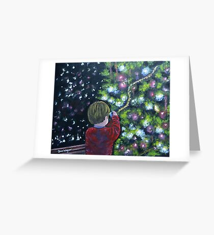 Christmas  wonder Greeting Card