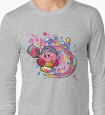 Camiseta de manga larga Kirby es un verdadero artista
