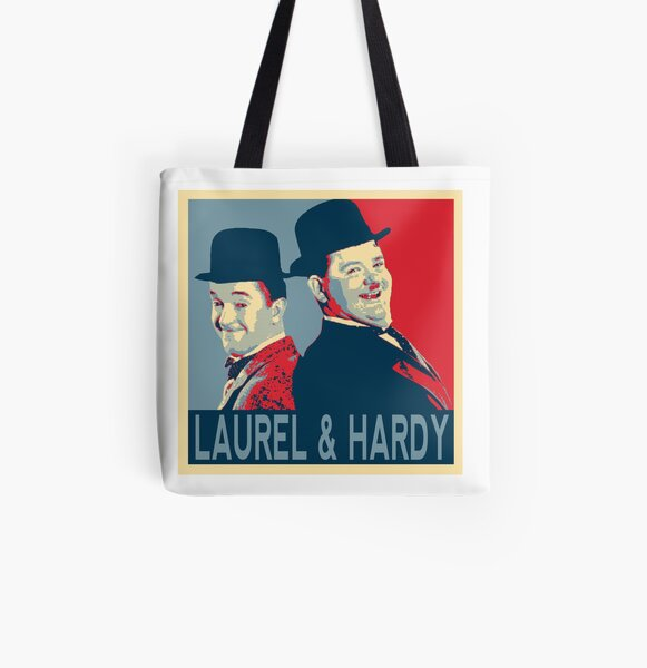 LAUREL AND HARDY, HOPE POSTER All Over Print Tote Bag