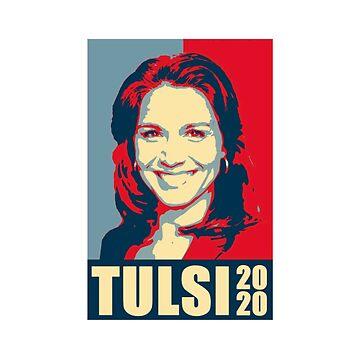 Tulsi Gabbard 2020, Tulsi for President, Gabbard by jasonaldo00