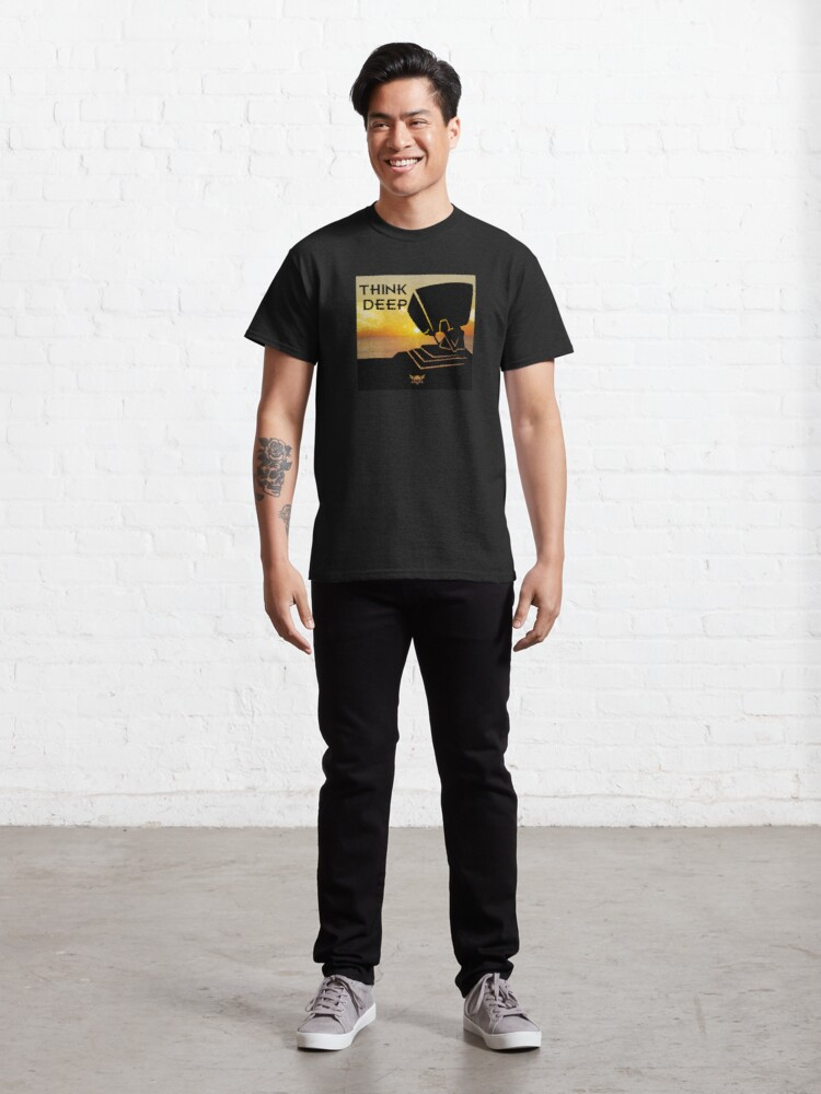 Alternate view of Think Deep Classic T-Shirt