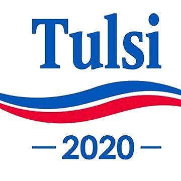 Tulsi Gabbard 2020, Gabbard for President, Tulsi by jasonaldo00