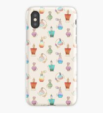 Pretty Perfumes - a pattern of vintage fragrance bottles iPhone Case/Skin