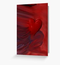 The Untamed Heart Greeting Card