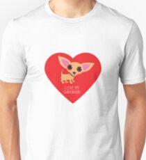 Chihuahua Heart ©BonniePortraits.com Slim Fit T-Shirt