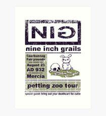 Nine Inch Grails Art Print