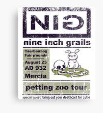 Nine Inch Grails Metal Print