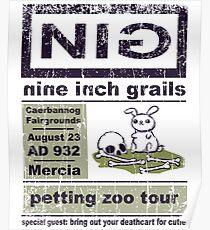 Nine Inch Grails Poster