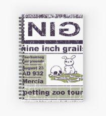 Nine Inch Grails Spiral Notebook