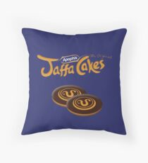 Apophis Jaffa Cakes Throw Pillow