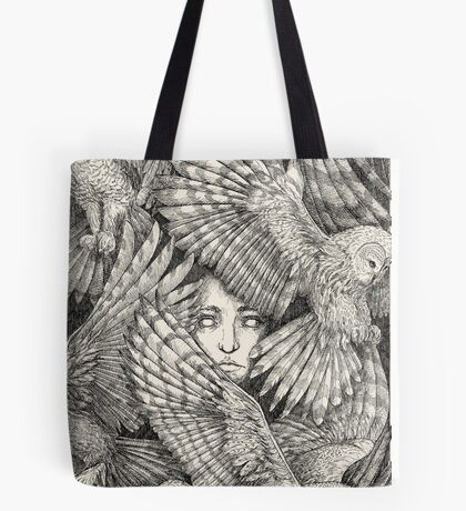 Daughter of Owls Tote Bag